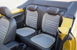 Volkswagen Beetle Dune Cabriolet, rear seats
