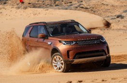 Land Rover Discovery, 2017, dunes, front