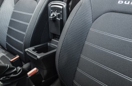 Dacia Duster, 2021, centre console, open