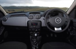 Dacia Duster, interior