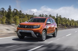 Dacia Duster, 2017, front