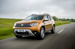 Dacia Duster, 2018, front, action