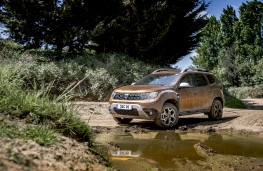 Dacia Duster, 2018, front, mud