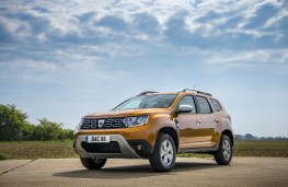 Dacia Duster, 2018, front, static