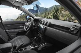 Dacia Duster, 2017, interior
