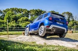 Dacia Duster, 2021, off road, rear