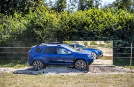 Dacia Duster, 2021, off road, side