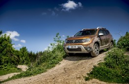 Dacia Duster, 2018, off road, slope