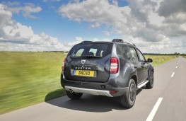 Dacia Duster, 2016, rear