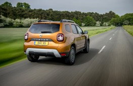 Dacia Duster, 2018, rear, action