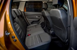 Dacia Duster, 2018, rear seats