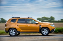Dacia Duster, 2018, side, action