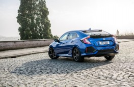 Honda Civic 1.6 I-DTEC, 2018, rear, static