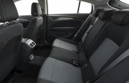 Vauxhall Insignia Grand Sport Elite, 2017, rear seats