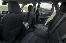 Mazda CX-5, 2017, rear seats