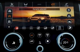 Range Rover Velar, 2017, dynamic mode