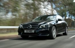 Mercedes E-Class, action