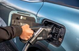 Electric vehicle charging, 2021, Citroen e-C4