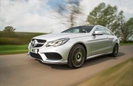 Mercedes E-Class Coupe, action