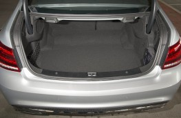 Mercedes E-Class Coupe, boot