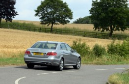 Mercedes E-Class, rear