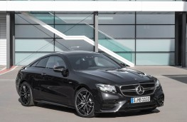 Mercedes-AMG E 35, coupe, front