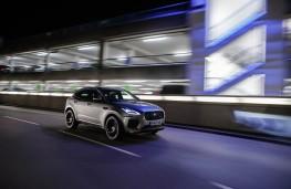 Jaguar E-Pace, front