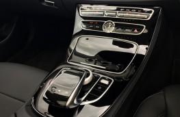 Mercedes-Benz E220 d, console
