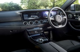 Mercedes-Benz E220 d, interior