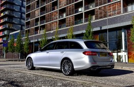 Mercedes-Benz E-Class Estate, 2017, rear