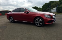 Mercedes-Benz E220 d, side, left