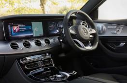 Mercedes-AMG E 63, 2017, interior