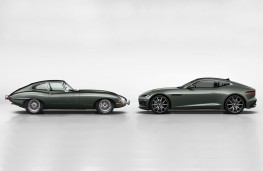 Jaguar E-Type and F-Type Heritage 60 Edition