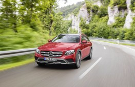 Mercedes-Benz E-Class All-Terrain, 2017, front, action