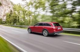 Mercedes-Benz E-Class All-Terrain, rear, action