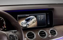 Mercedes-Benz E-Class All-Terrain, display screen