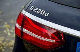 Mercedes E-Class Estate, 2016, badge