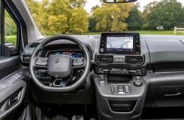 Citroen e-Berlingo, 2021, dashboard
