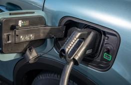 Citroen e-C4, 2020, charging point