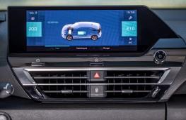Citroen e-C4, 2020, display screen