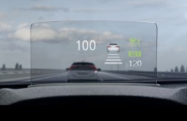 Mitsubishi Eclipse Cross, head up display