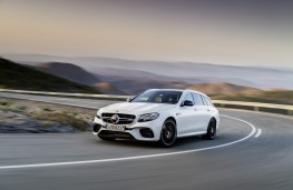 Mercedes-AMG E 633 S 4MATIC+ Estate, 2017, front, action