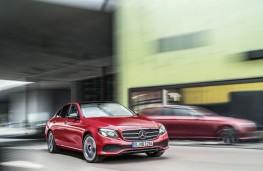 Mercedes-Benz E-Class 2016, front, action