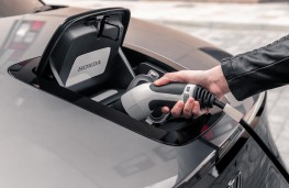 Honda e, 2020, charging