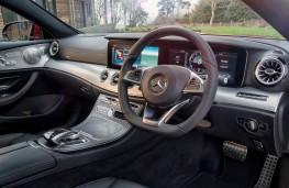 Mercedes E-Class Coupe, 2017, interior
