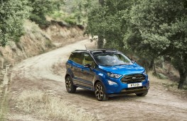 Ford EcoSport, 2017, front, off road