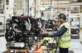 Ford Transit EcoBlue, Dagenham production line