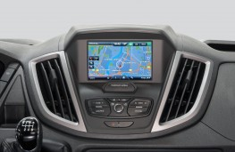 Ford Transit EcoBlue, SYNC display screen