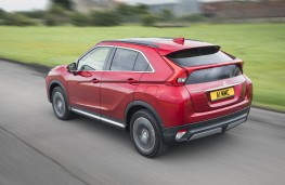 Mitsubishi Eclipse Cross, 2018, rear, action