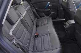 Citroen e-C4, 2021, rear seats